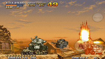 METAL SLUG 2 Screenshot - Metal Slug 2