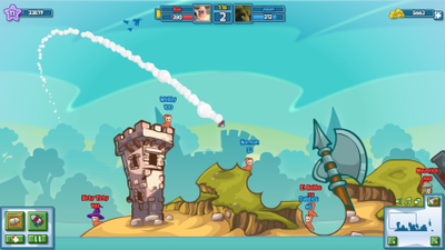 Worms Screenshot - Worms Facebook