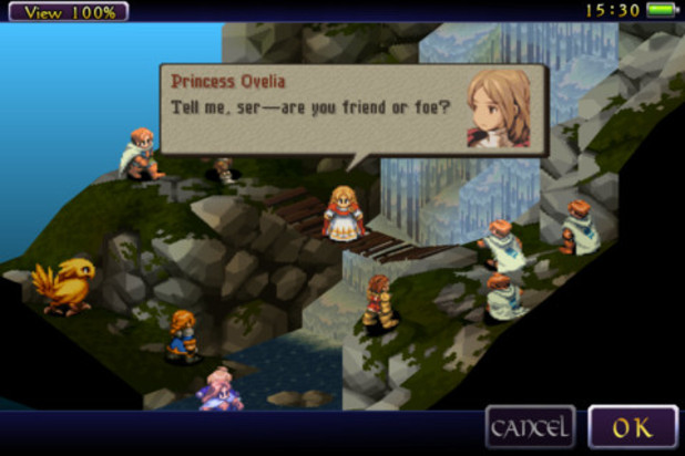 FINAL FANTASY TACTICS: The War of the Lions Screenshot - Final Fantasy Tactics: The War of the Lions