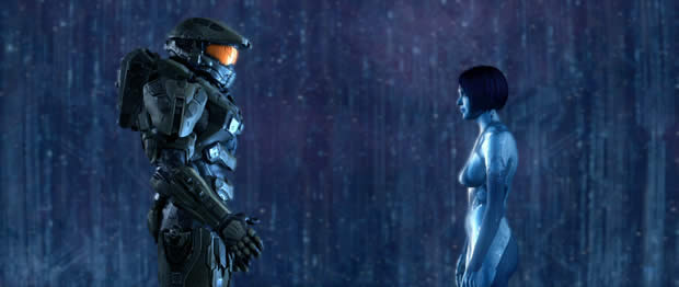 halo 4 master chief cortana