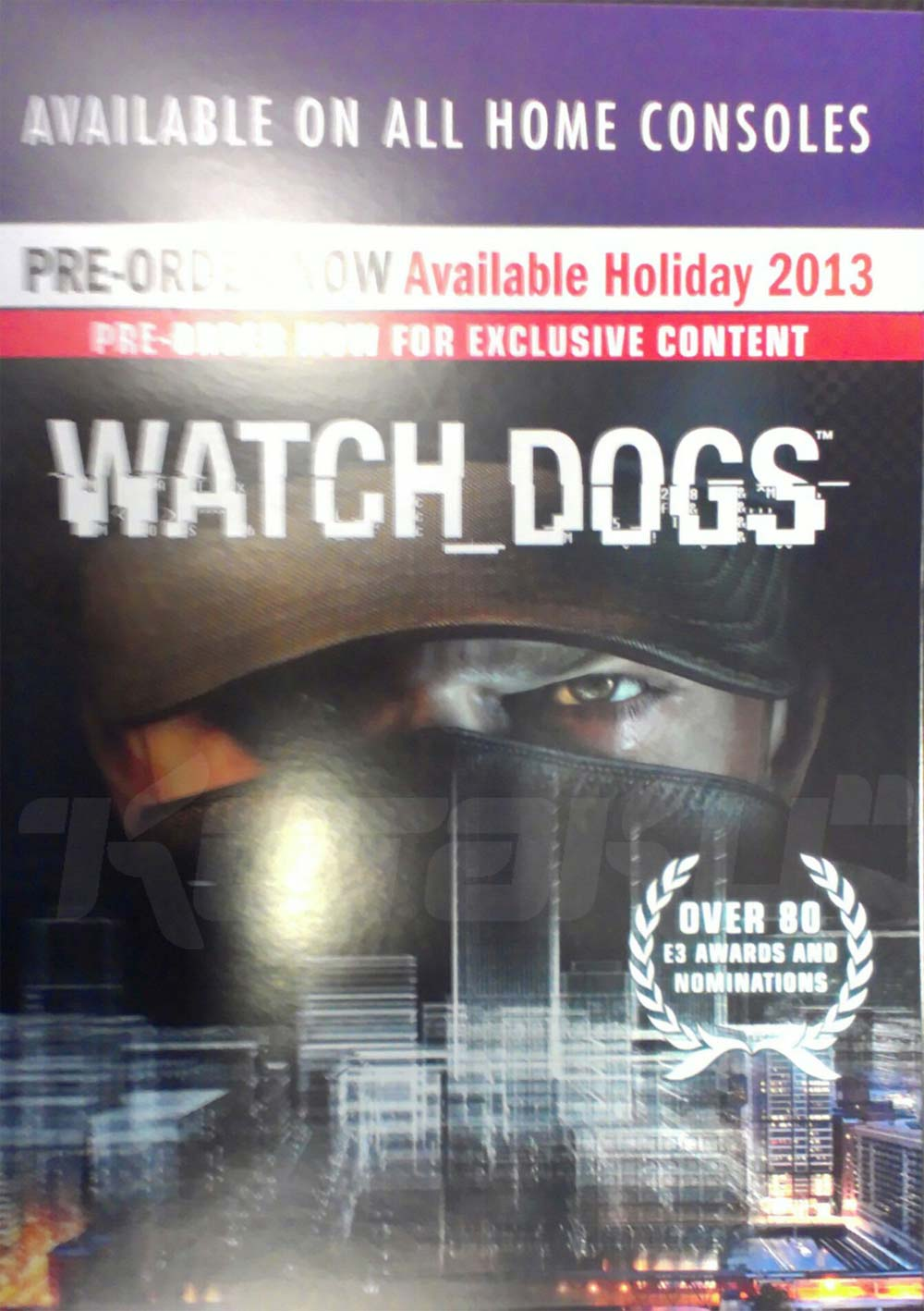 Watch Dogs promotional material