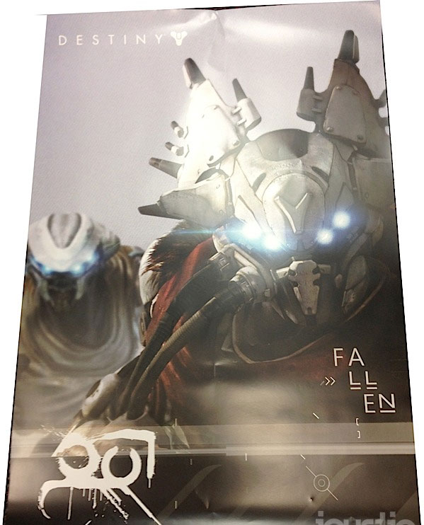 Destiny poster back