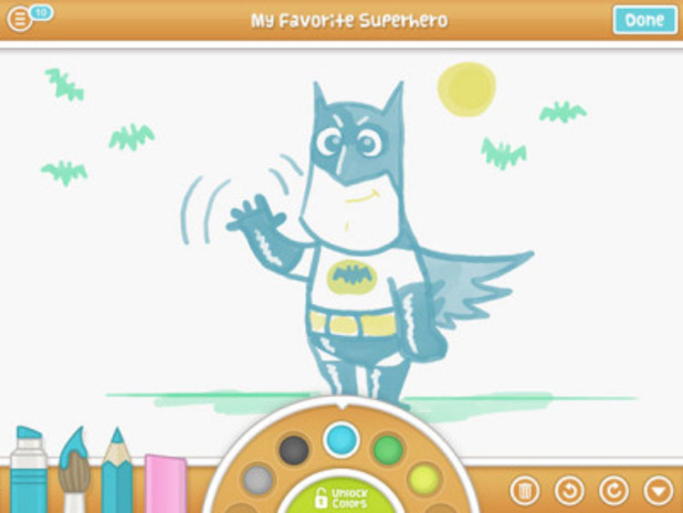 DrawQuest Batman