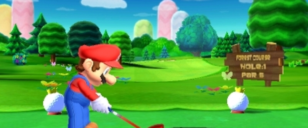 Mario Golf: World Tour - Feature
