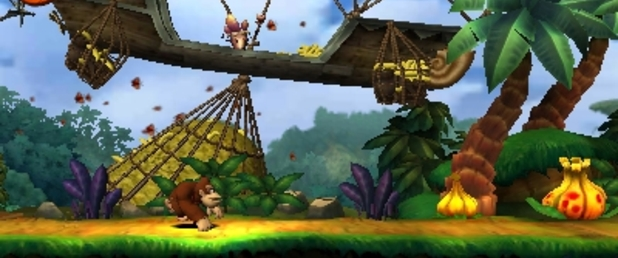 Donkey Kong Country Returns 3D - Feature
