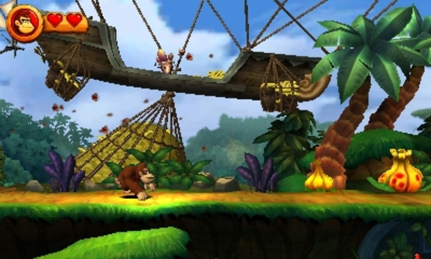 Donkey Kong Country Returns 3D Screenshot - 1137897