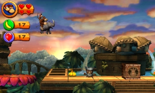Donkey Kong Country Returns 3D Gameplay