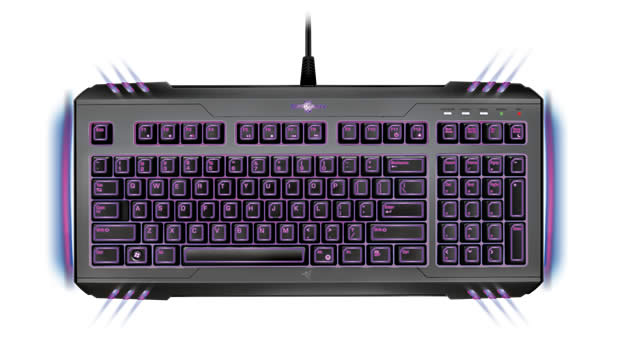 razer marauder starcraft 2 gaming keyboard