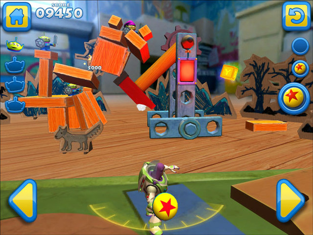 Toy Story Mania: The Mobile Game - MB Screenshot - 1138350