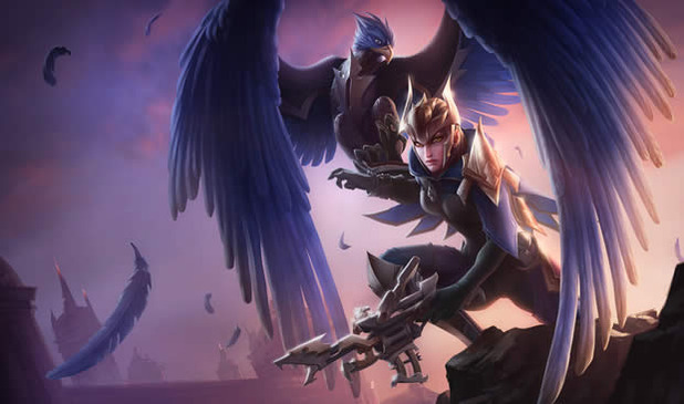 quinn and valor splash art