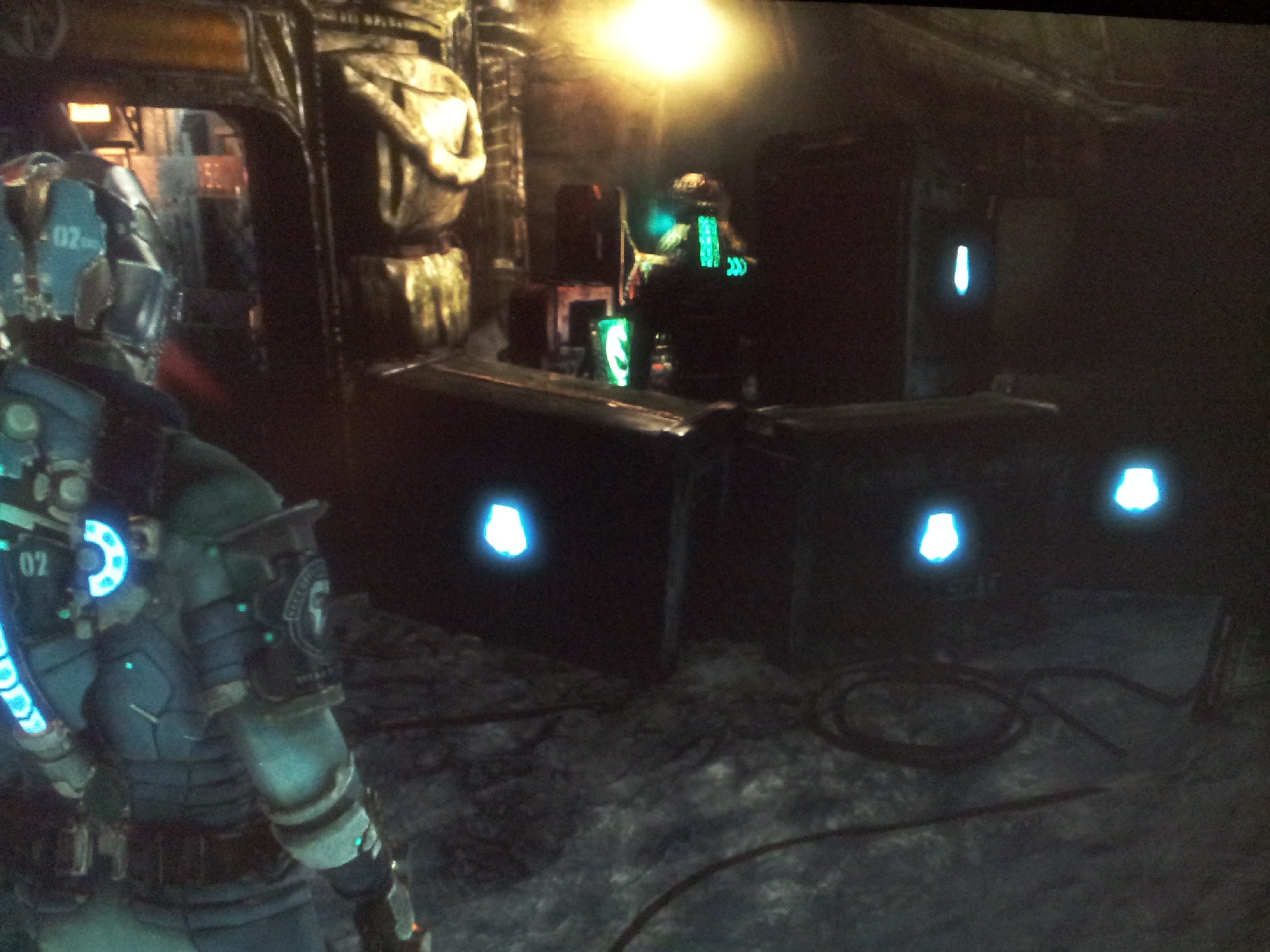 Dead Space 3 box fort