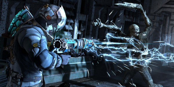 Dead Space 3 excessively loud gun