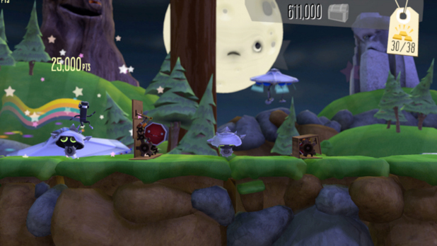BIT.TRIP Presents... Runner2: Future Legend of Rhythm Alien Screenshot - 1138757