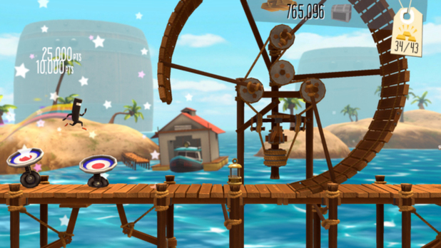 BIT.TRIP Presents... Runner2: Future Legend of Rhythm Alien Screenshot - 1138844
