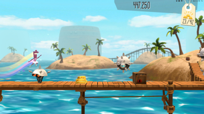 BIT.TRIP Presents... Runner2: Future Legend of Rhythm Alien Screenshot - 1138956