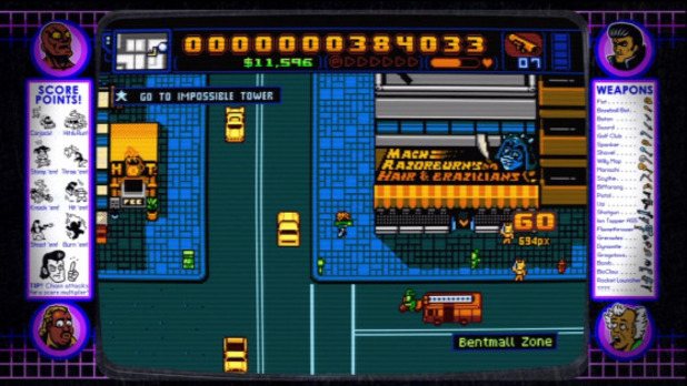 Retro City Rampage Screenshot - Retro City Rampage