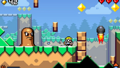 Mutant Mudds Screenshot - Mutant Mudds