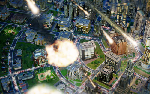 SimCity explosion