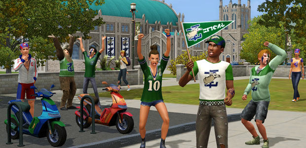 The Sims 3 school spirit