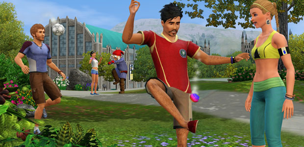 The Sims 3 hacky sack