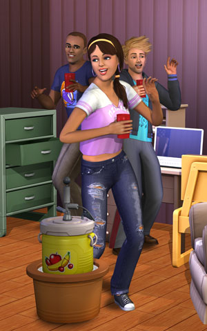 The Sims 3 Juice Keg