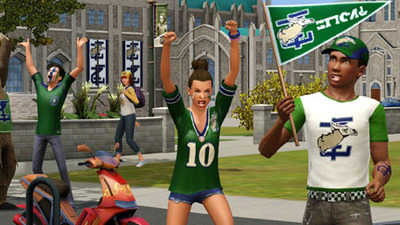 The Sims 3 University Life Screenshot - 1139834
