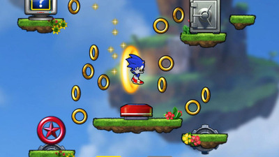 Screenshot - Sonic Jump