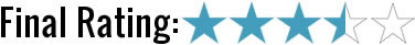 3 1/2 star rating