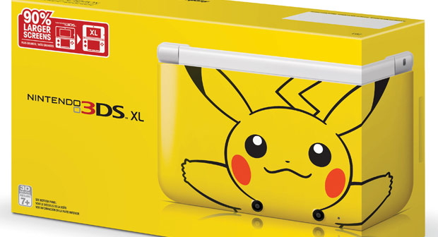 Pikachu 3ds xl finally coming to north america for 3ds xl pikachu achat