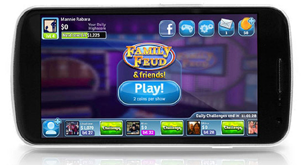 Family Feud example Mobile Value Exchange