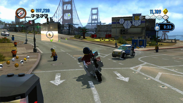 LEGO City Undercover - Cruising around LEGO City