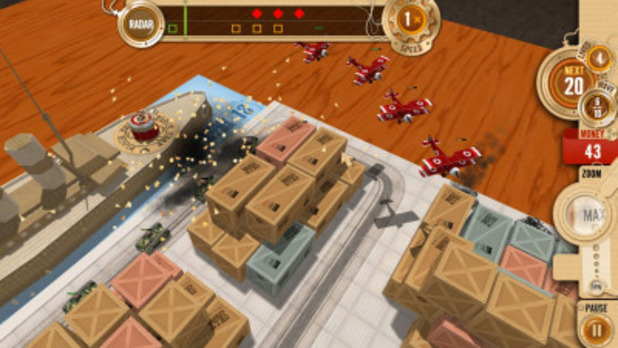Solitaire Blitz Screenshot - Tabletop Defense