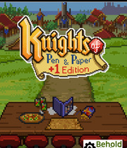 Knights of Pen & Paper Boxart