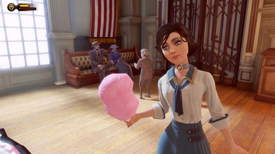 Bioshock Infinite Screenshot - BioShock Infinite - Elizabeth Cotton Candy