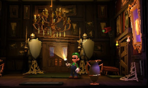 Luigi's Mansion: Dark Moon 3DS atmostphere