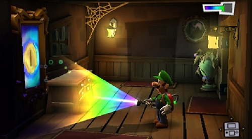 3DS Luigi's Mansion: Dark Moon Dark Light equipment