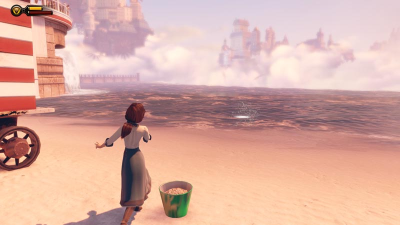 BioShock Infinite Skipping Rocks