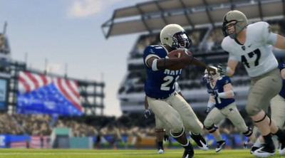 NCAA Football 14 Screenshot - NCAA Football 14 Navy