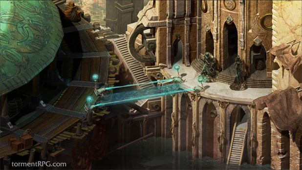 Torment: Tides of Numenera Screenshot - Torment: Tides of Numenera - Sagus Cliffs