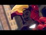 Lego Marvel Super Heroes Iron Man mask up, Tony Stark's face
