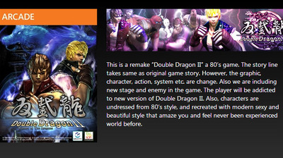 Double Dragon 2 product listing