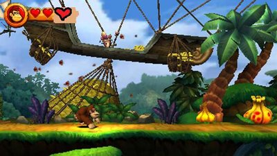 Donkey Kong Country Returns 3D Screenshot - 1144008