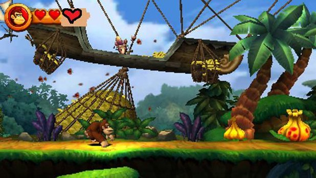 Donkey Kong Country Returns 3D Screenshot - 1144009