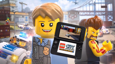 LEGO City Undercover the chase begins on 3DS