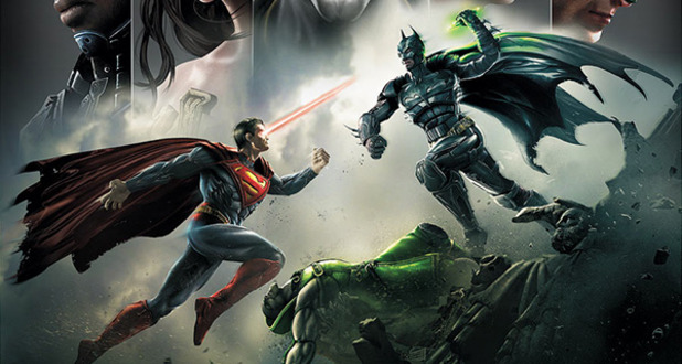 Injustice: Gods Among Us Superman vs Batman kryptonite