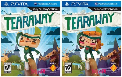 Tearaway Screenshot - Tearaway box art