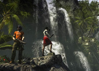 dead island riptide waterfall