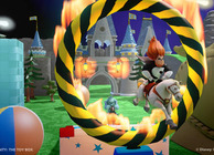 disney infinity toy box mode syndrome jumping through flaming hoop on horse