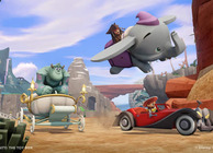 disney infinity toy box mode race jack sparrow on dumbo