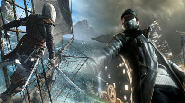 Assassin's Creed 4 - Watch Dogs - Xbox 720